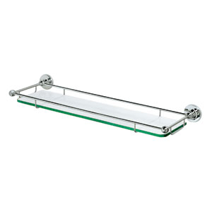 Premier Chrome Railing Shelf