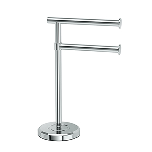 Latitude II 2-Arm Towel Holder Chome
