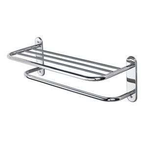 Chrome Spa Rack - Two Tier 26.5 Inches