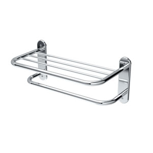 Spa Towel Shelves Chrome Towel Rack