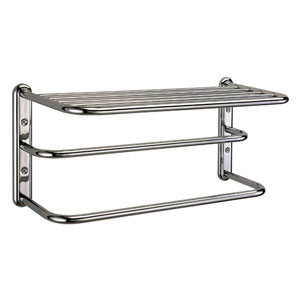 Chrome Spa Rack - Three Tier 20 Inches