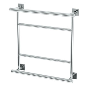 Elevate Chrome Hotel Towel Centre Rack