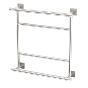 Shop Hotel Towel Shelf Brushed Nickel Bellacor