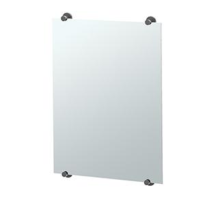 Latitude II 32-Inch Minimalist Rectangle Mirror Matte Black