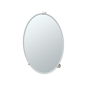 Oldenburg Satin Nickel Classical Mirror
