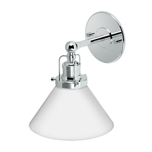 Café Chrome Single Sconce