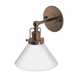 Café Bronze Single Sconce