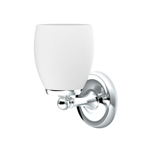 Designer II Chrome One-Light Bath Fixture