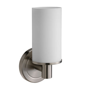 Latitude II Satin Nickel Single Sconce Light