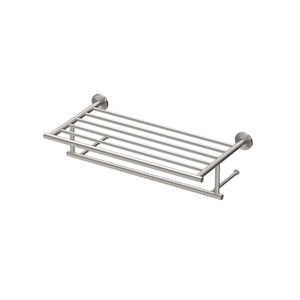 Latitude II 18-Inch Minimalist Towel Rack in Satin Nickel