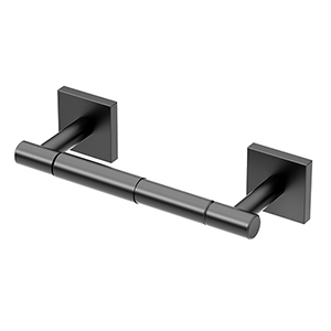 Elevate Standard Toilet Paper Holder Matte Black