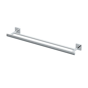 Elevate Chrome Double Towel Bar