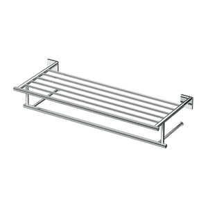 Elevate, 26-inch L Hotel Spa Rack, Chrome