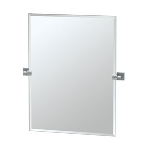Elevate Chrome Rectangular Mirror