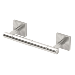 Elevate Satin Nickel Standard Tissue Holder
