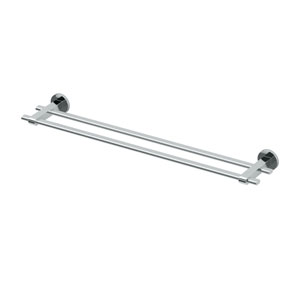 Zone Chrome 24 Inch Double Towel Bar