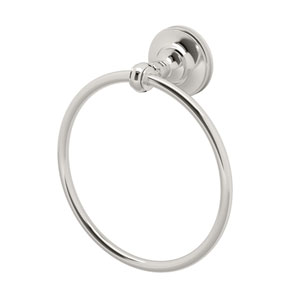 Tavern Polished Nickel Towel Ring