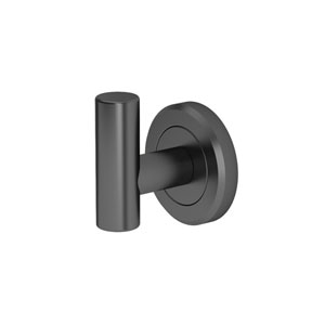 Latitude II Matte Black Robe Hook