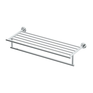 Latitude ll Chrome 24 Inch Minimalist Rack