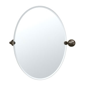 Tiara Bronze Tilting Oval Mirror