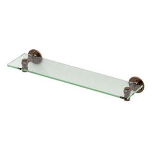 Café Bronze Glass Shelf