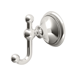 Laurel Ave. Polished Nickel Robe Hook