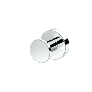 Glam Robe Hook Chrome