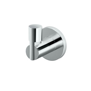 Channel Chrome Robe Hook