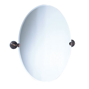Marina Bronze Tilting Oval Mirror
