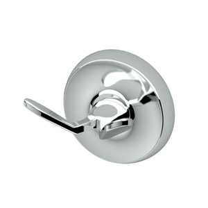 Designer II Chrome Twin Robe Hook