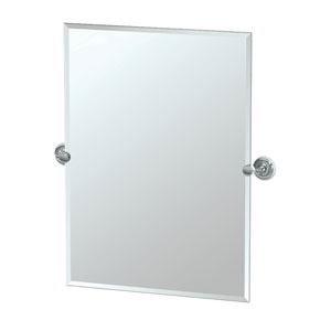 Designer II Chrome Rectangle Mirror