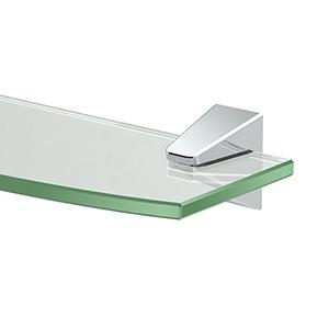 Quantra Glass Shelf Chrome