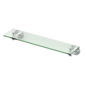 Marina Chrome Glass Shelf