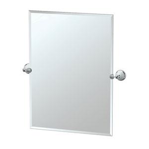 Franciscan Chrome Tilting Rectangular Mirror