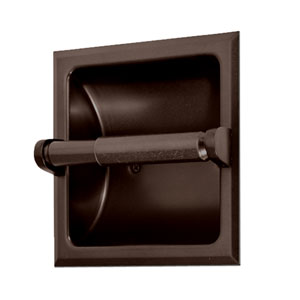 Recessed Bronze Tissue Holder