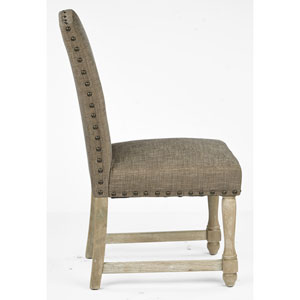 Kingman Edward Flannel Dining Chair