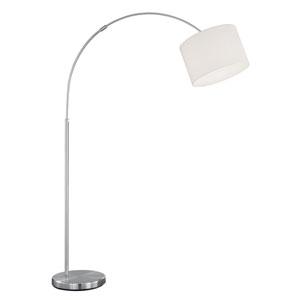 Grannus White One-Light Floor Lamp