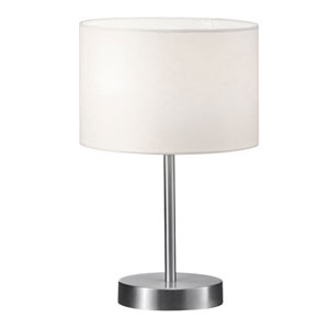 Grannus White 8-Inch One-Light Table Lamp