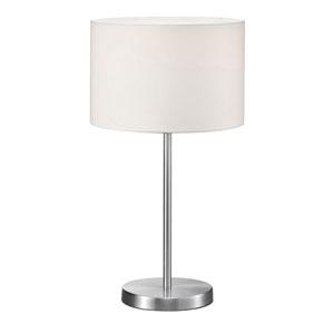 Grannus White 12-Inch One-Light Table Lamp