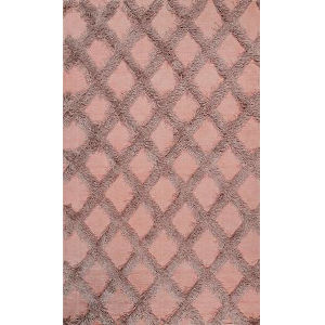 Trellisgy Pink Rectangular: 4 Ft. x 6 Ft. Rug