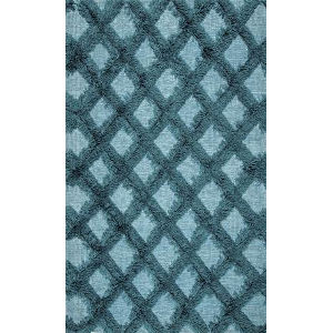 Trellisgy Green Rectangular: 7 Ft. 6 In. x 9 Ft. 6 In. Rug