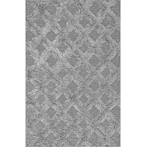 Trellisgy Silver Rectangular: 7 Ft. 6 In. x 9 Ft. 6 In. Rug