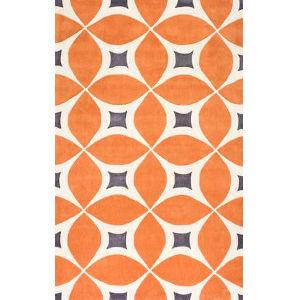 Gabriela Deep Orange Rectangular: 12 Ft. x 15 Ft. Rug