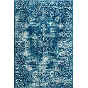 Vintage Corene Blue Rectangular: 8 Ft. x 10 Ft. Rug