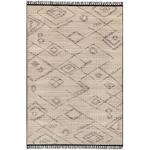 Moroccan Norah Ivory Rectangular: 5 Ft. 3 In. x 7 Ft. 7 In. Rug