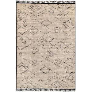Moroccan Norah Ivory Rectangular: 7 Ft. 10 In. x 10 Ft. 10 In. Rug