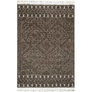 Vasiliki Moroccan Tribal Brown Rectangular: 5 Ft. 3 In. x 7 Ft. 7 In. Rug