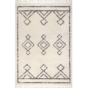 Mackie Moroccan Off White Rectangular: 3 Ft. x 5 Ft. Rug