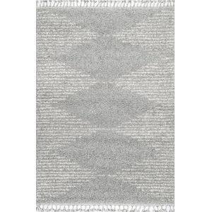 Bria Moroccan Gray Rectangular: 4 Ft. x 6 Ft. Rug