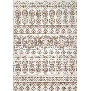 Florence Beige Rectangular: 6 Ft. 7 In. x 9 Ft. Rug